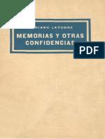 Memorias y otras confidencias, Mariano Latorre..pdf