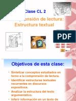 Clase CL 2. Estructuras Textuales