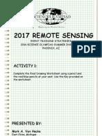 2017 Remote Sensing Ppt