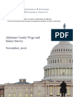 WAGE Study Alabama Association of County Commissioners