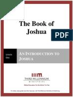 The Book of Joshua – Lesson 1 – Transcript