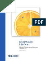 DICOM 6000 1-1-6 DICOMConformanceStatement MAN-01179 English Rev001 10_08