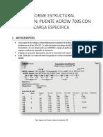 Informe Estructural Puente Acrow 51.86