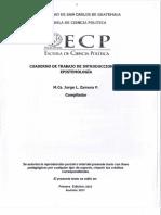 Cuaderno de Trabajo de Intro a La Epistemología_Jorge Zamora