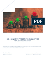 Risk-Sensitive Prescriptive Analytics