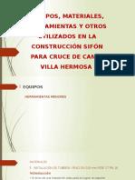 Equipos, Materiales, Herramientas Construccion 1