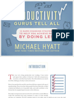 Free to Focus - Productivity Gurus Tell All