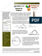 Exercise 1-3 - Pythagorean Theorem