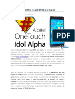 Rootear Alcatel One Touch 6032 Idol Alpha