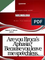 Pembahasan Fase Cepat Neurologi Batch 2 Reguler 2015