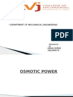 osmotic p