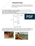 Fases de la Prehistoria