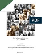 Der Pythagoreische Grieche G.I. Gurdjieff