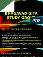 Bhagavad Gita Group Study Program