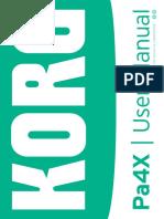 Pa4X User Manual E5