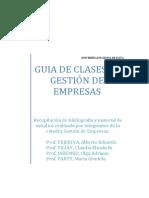 Guias de Clases de Gestión de Empresas