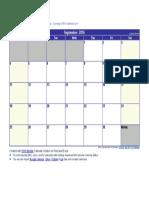 September 2016 Calendar.docx
