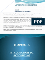 Chapter- 1 Introduction to Accounting