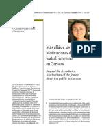12 Artículo Zicri Evelyn Colmenares Díaz Más Allá de las butacas. Motivaciones del público teatral femenino en caracas