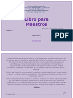 Libro Para Maestros Final de Arte1