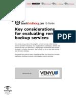 Venyu sDataBackup SO O30633 E Guide 6