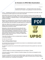 Insightsonindia.com-Tips for Writing Better Answers in UPSC Main Examination