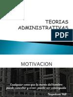 2.- TEORIAS ADMINISTRATIVAS