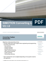 Slides SIMOTION Converting Library V2 1 0