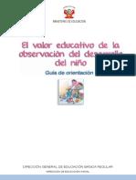 Guia El Valor Educativo de La Observacion