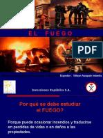 Expo El Fuego y Clases de Fuego