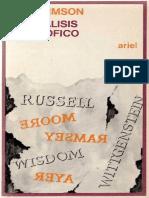 Urmson, J.O. - El análisis filosófico Ed. Ariel 1978.pdf