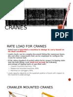 Rated Loads for Lattice- And Telescopic-boom Cranes
