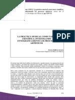 Zaldívar%2c Álvaro. La Práctica Musical Como Tarea Científica. Investigando Etnográficamente Los Procesos Artísticos (2013)
