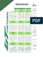 Calendario Escolar Sep16-Ago17