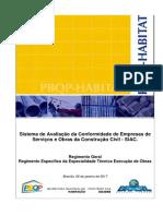 Regimento SiAC Completo 2017