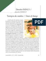 Palabras Carlos Enrique Guzmán Cárdenas Director del ININCO-UCV Dic 2016