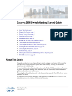 Cisco Catalyst 3850 Started Guide