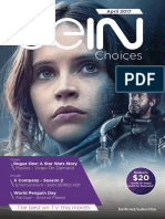 BeIN TV Guide April
