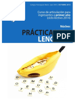Cuadernillo Prácticas Del Lenguaje