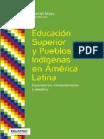 Educação superior y pueblos indigenas en América Latina
