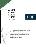 JURISPRUDENCIA DE ALIMENTOS.docx