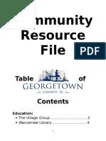 community resource file
