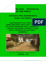 Informe Perfil Cajamarca Final