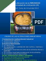 Causas Alteracion Inmunidad III 2013