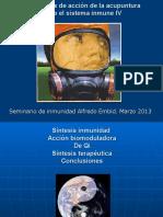Acupuntura Inmunidad IV 2013
