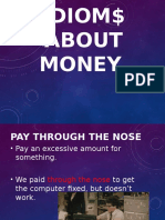 Idioms About Money