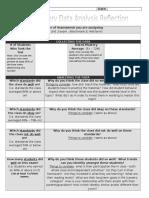 Data Analysis Form