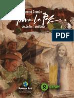 Agenda Común Para La Paz Desde Los Territorios