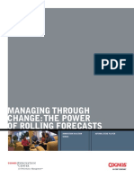 Ibm Cognos Managing Through Change Rolling Forecasts1