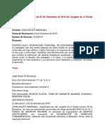Sentencia Social 33 Barcelona 23 Diciembre 2016